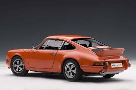 orange porsche 911 convertible highly detailed autoart porsche 911 carrera rs 2 7 1973 orange
