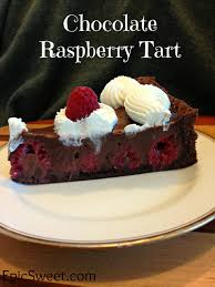 chocolate raspberry dessert chocolate raspberry tart epic sweet
