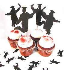 graduation cake toppers graduation cupcake toppers jumping for graduates