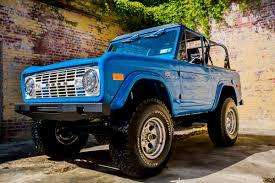 ford bronco 1970 classic ford broncos velocity restorations