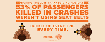 stay safe on the roads this thanksgiving buckle up every trip