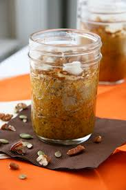 Crustless Pumpkin Pie by Crustless Pumpkin Pudding Pie In A Jar Natural Noshing