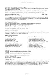 Example Of Project Manager Resume by It Project Manager Resume Electrical Project Manager Resume