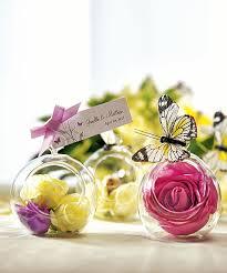 Flower Favors by Decorative Flower Pots Wedding Favors