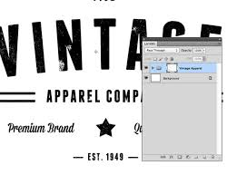 tutorial illustrator layers to make a letterpress texture effect in photoshop