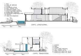 Home Design Plan View Stunning Modern Aqua House In Argentina Rooms Plan View Home
