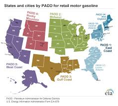 map us gas prices regional gasoline price differences energy explained your guide