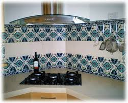 hand painted tile backsplash kitchen cabinet hardware room