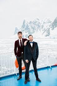 brian patrick flynn hgtv designer brian patrick flynn s antarctica wedding people com