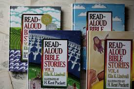 read aloud bible stories ella k lindvall little book big story