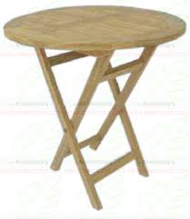 Small Folding Wooden Table Ft 017 Table Small Folding Round New Teak Table Furniture Real