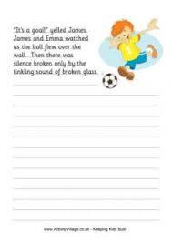 story starters printables for kids