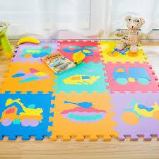 tappeti puzzle 9 pz modello fumetto di trasporto tappeto pavimento in schiuma