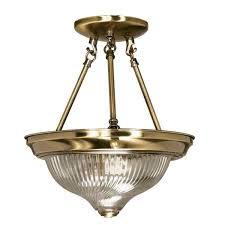 Brushed Brass Light Fixtures by In Focus Flush And Semi Flush Mounted Lights U2014 1000bulbs Com Blog