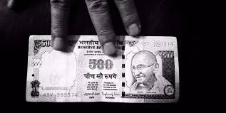 pieces of paper demonetisation of rs 500 and rs 1000 notes
