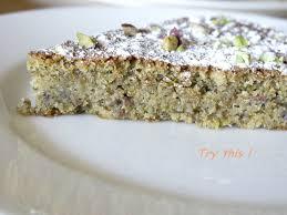 cuisine sans farine gâteau à la pistache et au pralin sans farine try this