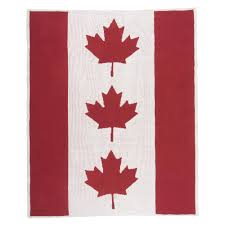 canadian flag throw throws bedroom urban barn