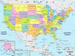 us map states los angeles usa maps with cities and time zones us time zones los angeles time