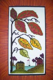 391 best autumn cross stitch images on pinterest cross stitch