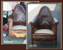Leather Sofa Refinishing Aaa Leather Doctor Before And After