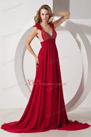 evening maxi dresses wine a line straps brush chiffon beading prom maxi