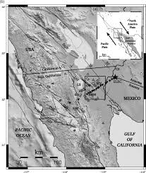 Mexicali Mexico Map by A Crustal Velocity Model For The Southern Mexicali Valley Baja