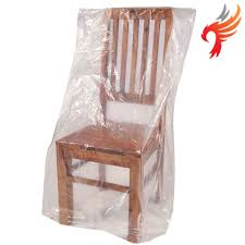 Dinning Chair Covers Clear Polythene Dining Chair Protection Storage Dust Covers