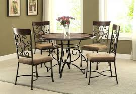 wrought iron dining table glass top wrought iron dining table view larger wrought iron dining room table