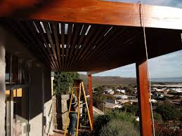Pergola Sun Shades by Wooden Pergola Shade Awning With Roof Cape Decking U0026 Fencing