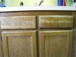 Funky Kitchen Cabinets Excellent Painting Stained Kitchen Cabinets