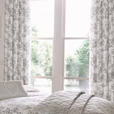 Curtains White And Grey Grey Floral Curtains Curtains Ideas