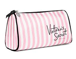 makeup bag s secret makeup bag pink white stripes