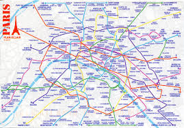 Map Paris France by Paris Metro Map Remembering Letters And Postcards