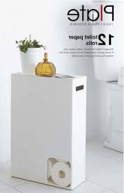 home design cloudy day toilet paper storage holder bathroom