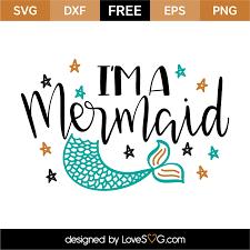 u0027m mermaid lovesvg