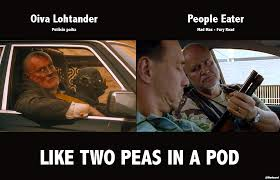Two Peas In A Pod Meme - like two peas in a pod oiva people eater imgur