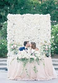 wedding backdrop flower wall chic wedding with a lush floral wall backdrop wall backdrops