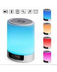 elecstars led touch bedside l find the best deals on night lights bluetooth speaker upbasicn 4 in