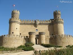 historical castles castle of manzanares el real madrid spain