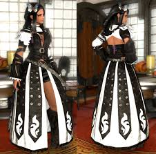 ffxiv halloween eorzea database makai markswoman u0027s battledress final fantasy
