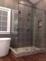 bathroom frosted shower glass panel terrific frameless doors with