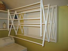 Bedroom Wall Clothes Rack Home Design Ceiling Mounted Clothes Drying Rack Mudroom Bedroom