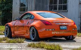 Nissan 350z Orange - street car of the week johnathan u0027s drift drag and street 350z