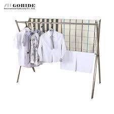 gohide x type coat rack stainless steel racks floor folding
