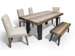 Dining Table And 4 Chairs Roads Dining Room Dining Table 4 Chairs And Bench