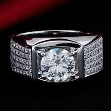cheap diamonds rings images Amazing big diamonds ring 5ct classic original sterling silver man jpg