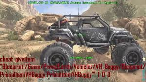 jeep buggy how to summon spawn the jeep buggy in ark survival evolved console