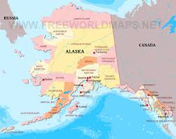 Political Map United States by Where Is Alaska Located On The Map