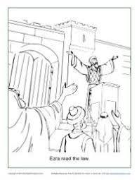9 bible ot ezra images bible coloring pages