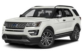 Ford Explorer Towing Capacity - 2017 ford explorer platinum 4dr 4x4 specs and prices